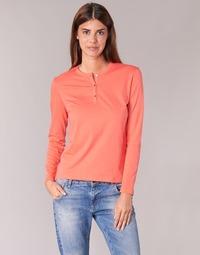 Ruhák Női Hosszú ujjú pólók BOTD EBISCOL Narancssárga