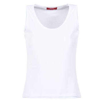 Ruhák Női Trikók / Ujjatlan pólók BOTD EDEBALA Fehér