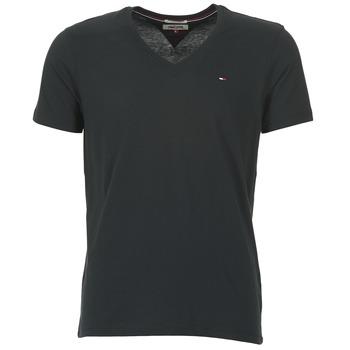 Ruhák Férfi Rövid ujjú pólók Tommy Jeans MALATO Fekete
