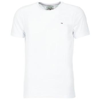 Ruhák Férfi Rövid ujjú pólók Tommy Jeans OFLEKI Fehér