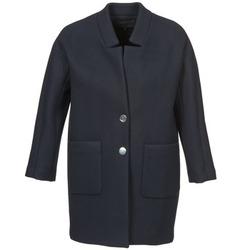 material Női Kabátok American Retro LAURA Tengerész