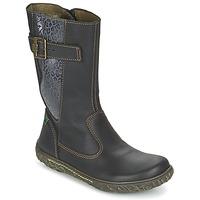 Shoes Lány Városi csizmák El Naturalista NIDO Fekete