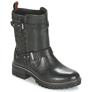 Cipők Női Csizmák Pepe jeans HELEN Fekete