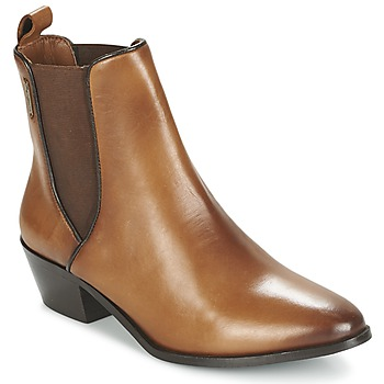Cipők Női Bokacsizmák Pepe jeans DINA Barna