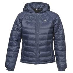 Ruhák Női Steppelt kabátok Le Coq Sportif FANTAISIE DIBONA Tengerész