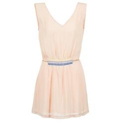 Ruhák Női Rövid ruhák Moony Mood EARINE Rózsaszín