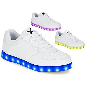 Cipők Rövid szárú edzőcipők Wize & Ope THE LIGHT Fehér