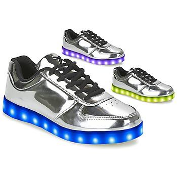 Cipők Női Rövid szárú edzőcipők Wize & Ope THE LIGHT Ezüst