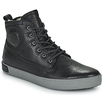 Cipők Férfi Magas szárú edzőcipők Blackstone JIVIDETTE Fekete