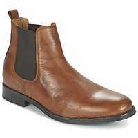 Shoes Férfi Csizmák Selected SHDOLIVER CHELSEA BOOT NOOS Konyak