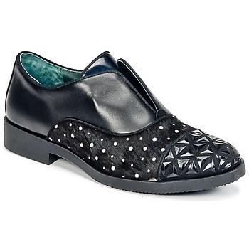 Cipők Női Oxford cipők Café Noir BASILE Fekete