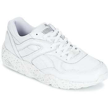 Cipők Férfi Rövid szárú edzőcipők Puma R698 SPECKLE Fehér / Ezüst