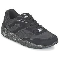 Cipők Férfi Rövid szárú edzőcipők Puma R698 SPECKLE V2 Fekete  / Ezüst