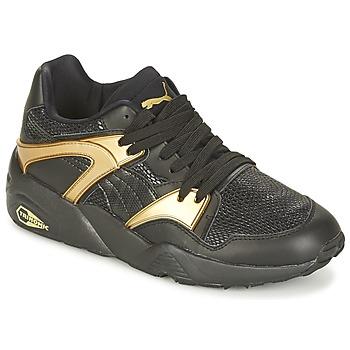 Cipők Női Rövid szárú edzőcipők Puma BLAZE GOLD WN'S Fekete  / Arany