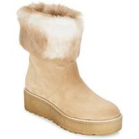Cipők Női Csizmák Nome Footwear MOVETTA Bézs