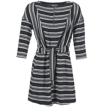 Ruhák Női Rövid ruhák Loreak Mendian PILI Fekete  / Fehér