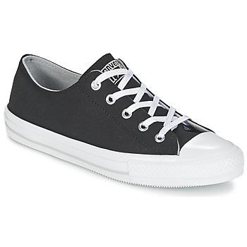 Cipők Női Rövid szárú edzőcipők Converse GEMMA TWILL OX Fekete