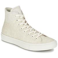 Cipők Magas szárú edzőcipők Converse CHUCK TAYLOR ALL STAR II  CAOUTCHOUC HI Bézs