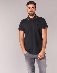 Ruhák Férfi Rövid ujjú galléros pólók Casual Attitude EPIDIN Fekete