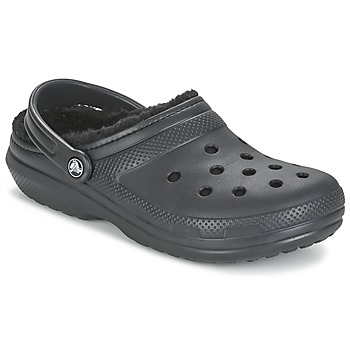 Shoes Klumpák Crocs CLASSIC LINED CLOG Fekete