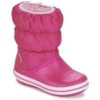 Cipők Lány Hótaposók Crocs WINTER PUFF BOOT KIDS Rózsaszín