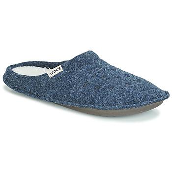 Shoes Mamuszok Crocs CLASSIC SLIPPER Tengerész / Piros
