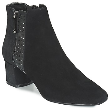 Cipők Női Bokacsizmák Luciano Barachini JOU Fekete
