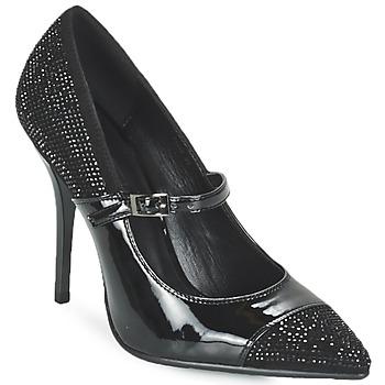 Cipők Női Félcipők Luciano Barachini POUL Fekete