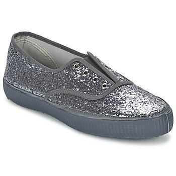 Cipők Női Rövid szárú edzőcipők Chipie JOSS GLITTER Antracit
