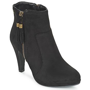 Cipők Női Bokacsizmák Refresh MINU Fekete