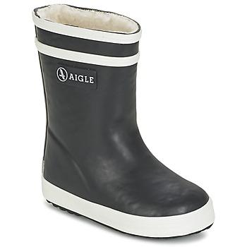 Cipők Gyerek Gumicsizmák Aigle BABY FLAC FUR Tengerész