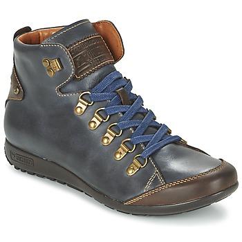 Shoes Női Magas szárú edzőcipők Pikolinos LISBOA W67 Tengerész