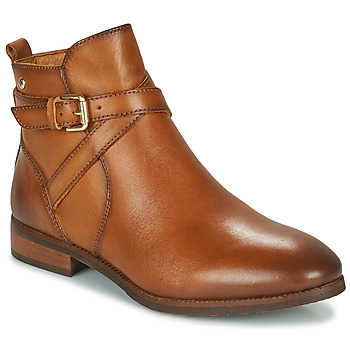 Cipők Női Csizmák Pikolinos ROYAL W4D Konyak