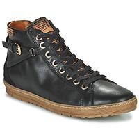 Cipők Női Magas szárú edzőcipők Pikolinos LAGOS 901 Fekete