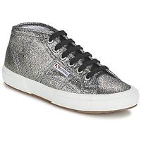 Cipők Női Magas szárú edzőcipők Superga 2754 LAMEW Ezüst