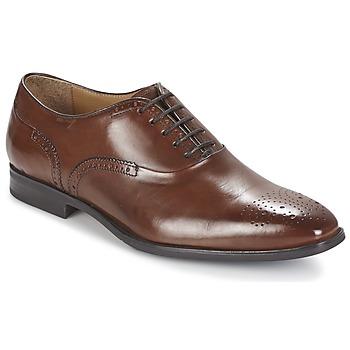Cipők Férfi Bőrcipők Geox NEW LIFE A Barna