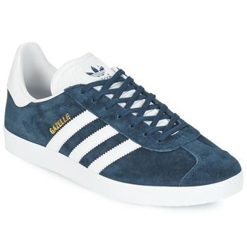 Cipők Rövid szárú edzőcipők adidas Originals GAZELLE Tengerész