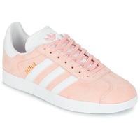 Cipők Rövid szárú edzőcipők adidas Originals GAZELLE Rózsaszín