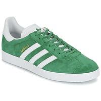Cipők Rövid szárú edzőcipők adidas Originals GAZELLE Zöld
