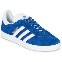 Cipők Rövid szárú edzőcipők adidas Originals GAZELLE Kék