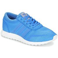 Cipők Fiú Rövid szárú edzőcipők adidas Originals LOS ANGELES J Kék