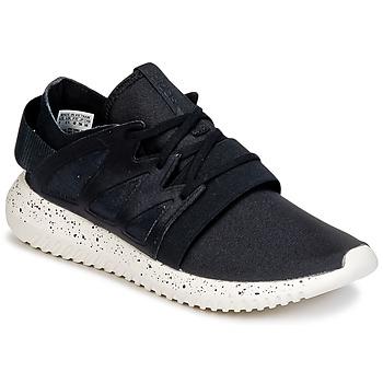 Shoes Női Rövid szárú edzőcipők adidas Originals TUBULAR VIRAL W Fekete