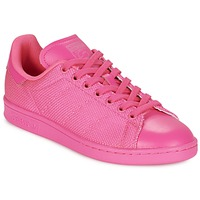 Cipők Női Rövid szárú edzőcipők adidas Originals STAN SMITH Rózsaszín