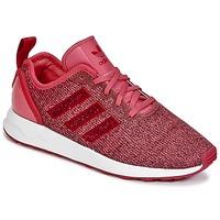 Shoes Lány Rövid szárú edzőcipők adidas Originals ZX FLUX ADV J Rózsaszín