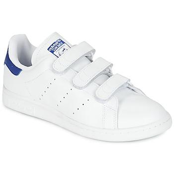 Cipők Rövid szárú edzőcipők adidas Originals STAN SMITH CF Fehér / Kék