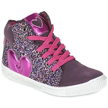 Cipők Lány Magas szárú edzőcipők Agatha Ruiz de la Prada BUSOULI Lila