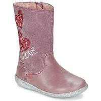 Cipők Lány Városi csizmák Agatha Ruiz de la Prada BIGI Rózsaszín