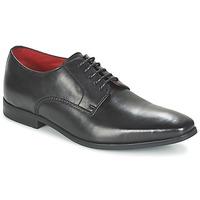 Cipők Férfi Oxford cipők Base London GEORGES Fekete