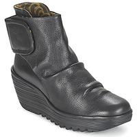 Cipők Női Bokacsizmák Fly London YEGI Fekete