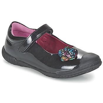 Cipők Lány Balerina cipők / babák Mod'8 KANDEA Fekete